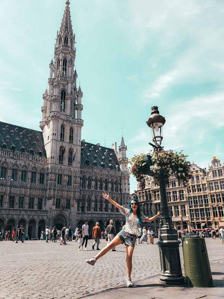 grand place em bruxelas arquitetura