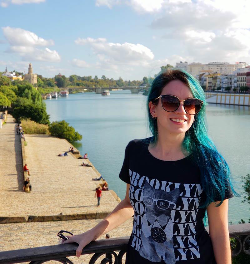Caminhar ao londo do Rio Guadalquivir