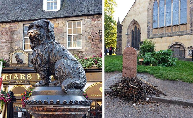 Cachorro Bobby do Greyfriar's Kirkyard