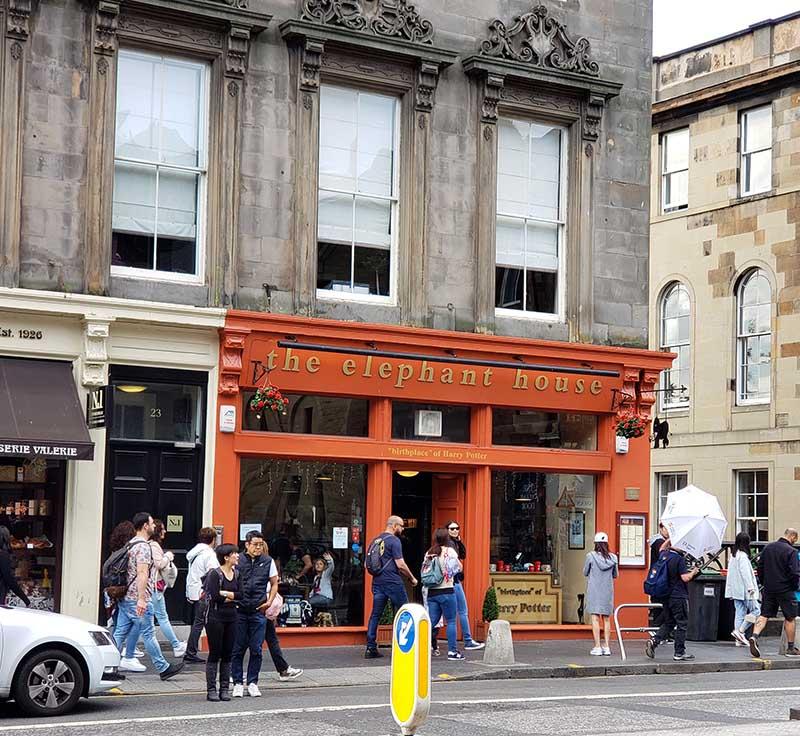 cafe harry potter edimburgo elephant house