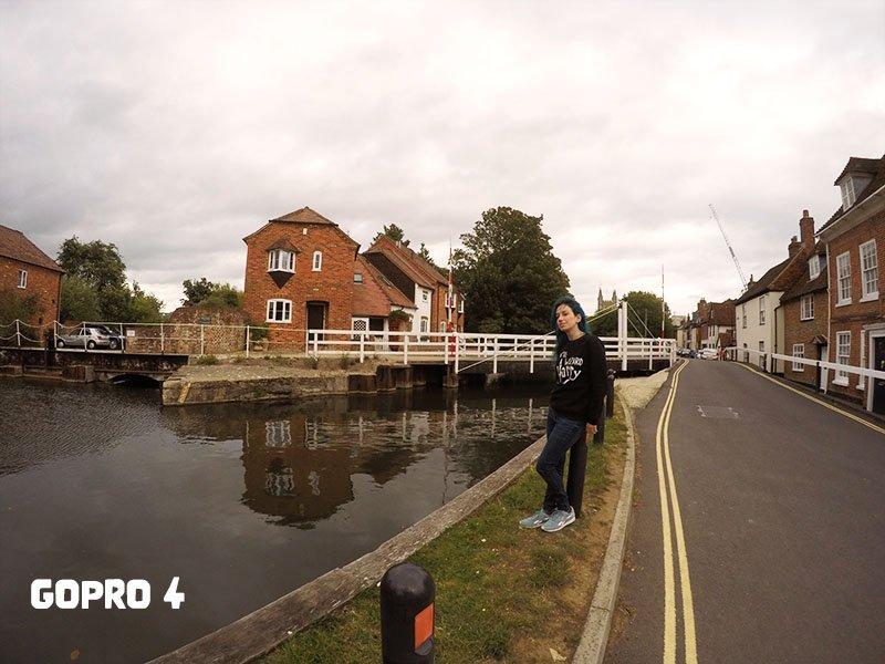 Comparação Distância Focal Go Pro 4 Como escolher câmera para viagem