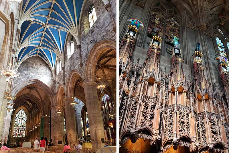 Interior da Catedral de St Giles