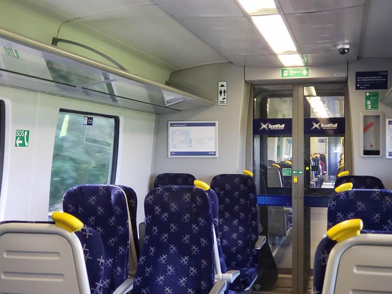 dicas para viajar barato de trem na escocia