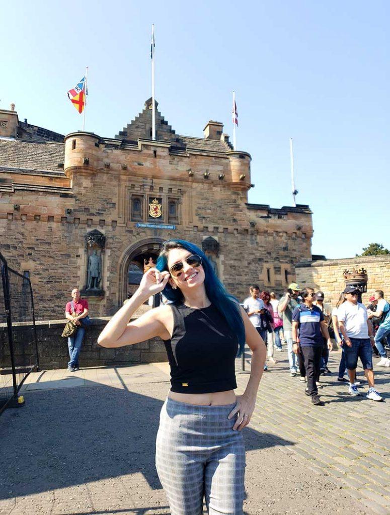 entrada castelo de edimburgo