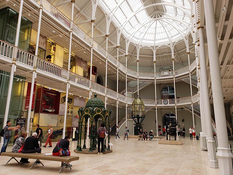entrada museu nacional da escocia edimburgo
