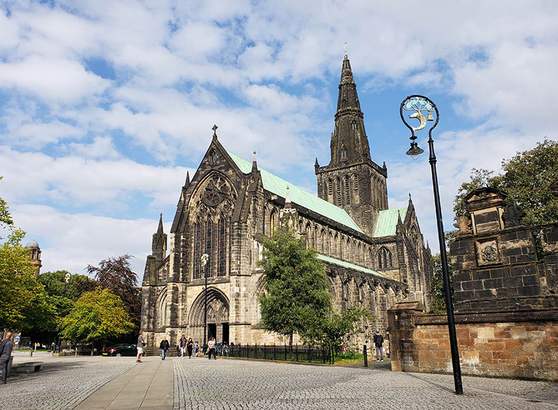 Fachada da Catedral de Glasgow