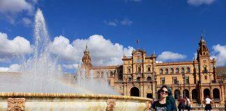 Fonte da Praça de España