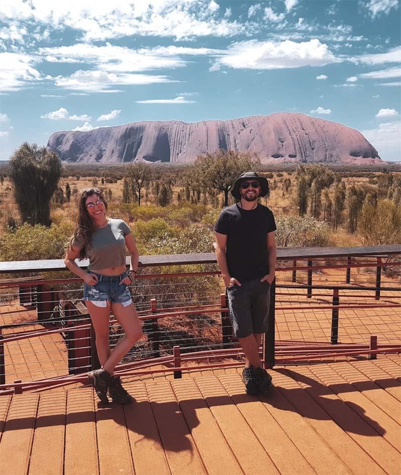 outback uluru montanha deserto australia