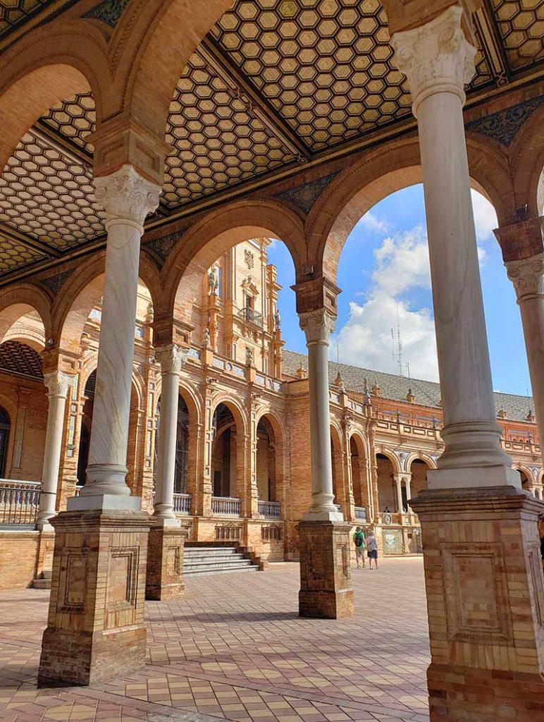 Praça de España em sevilha
