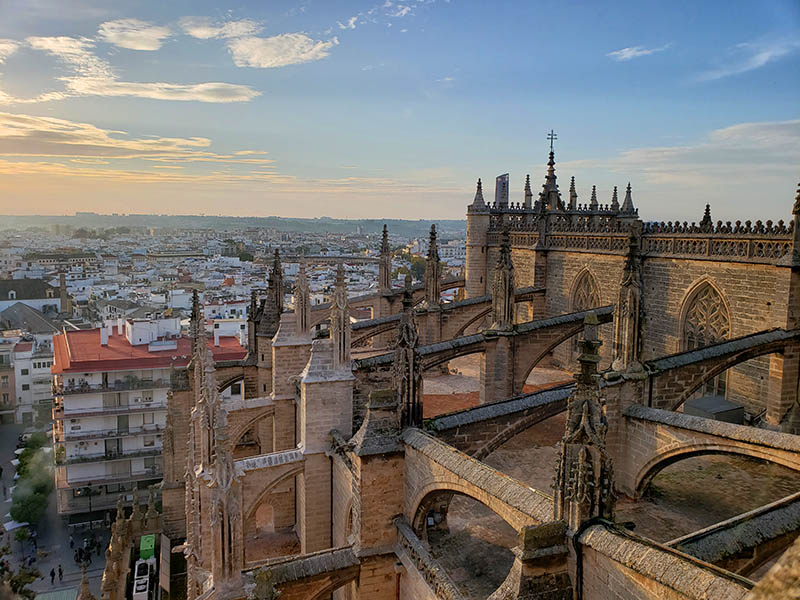 Tour Guiado pelos Telhados da Catedral de Sevilha