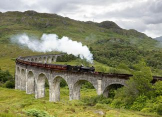 Jacobite Steam Train: o trem Expresso Hogwarts!