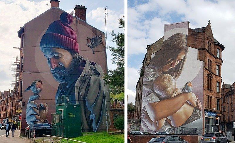 Murais mais famosos de Glasgow