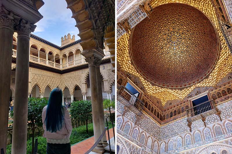 interiores do Real Alcázar