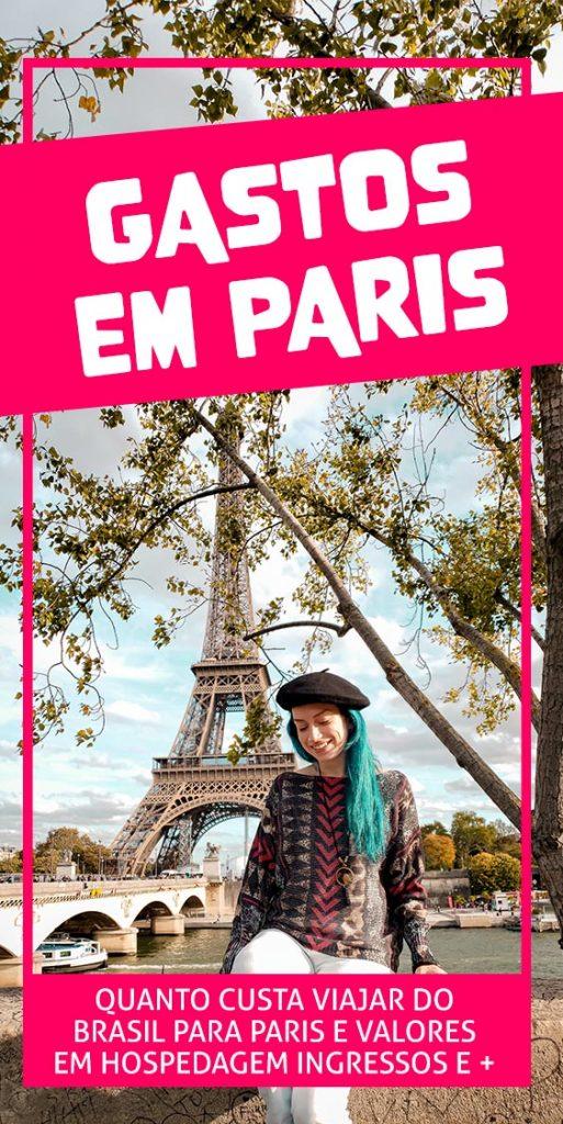 Gastos em Paris quanto custa viajar para França