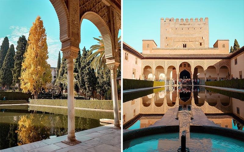 Alhambra possui tantos lugares bonitos!