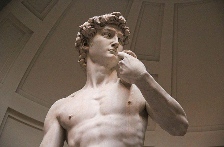 museu david de michelangelo galeria florenca