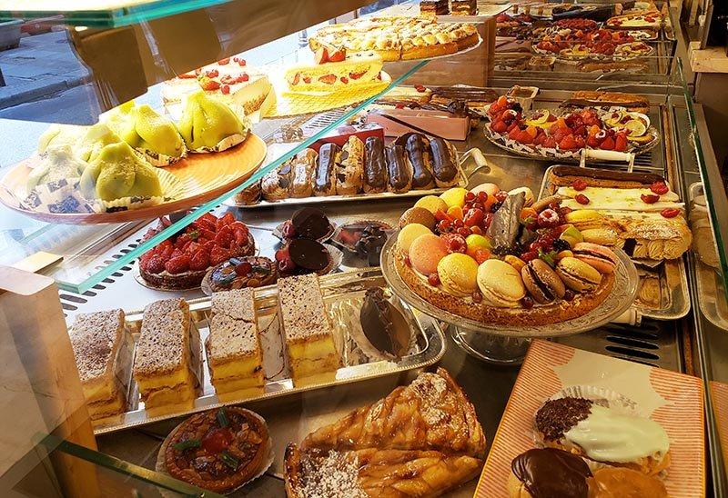 Doces deliciosos em Paris