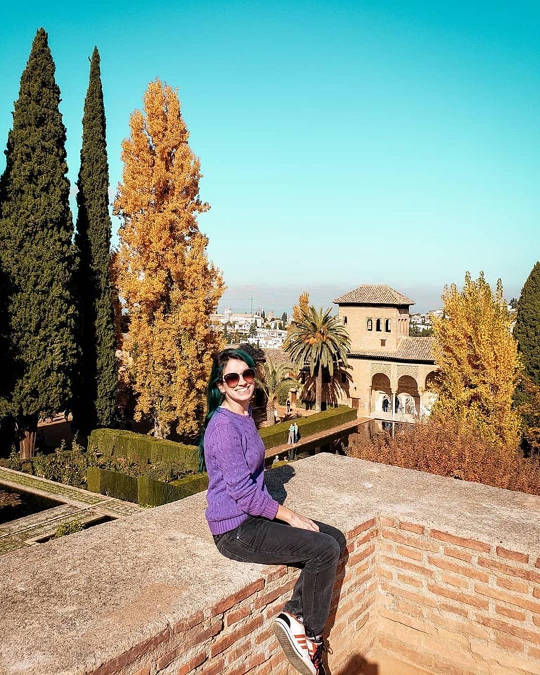 Jardins Machuca em Alhambra