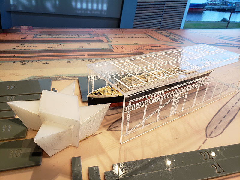 altura museu do titanic exposicao