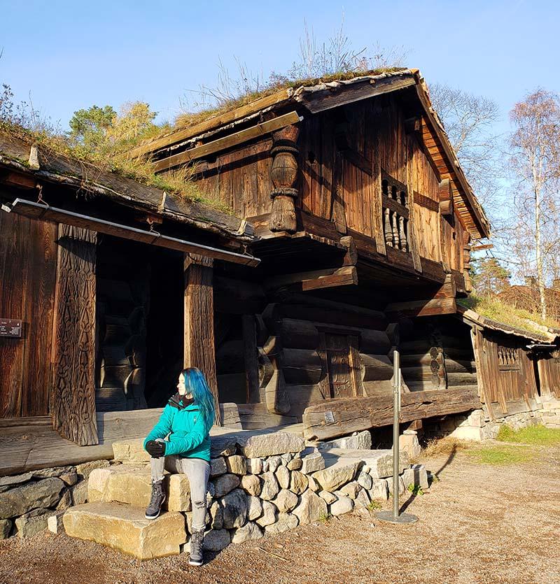 casa de madeira seculo 14 noruega