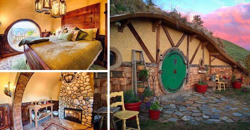Casa de Hobbit nos Estados Unidos