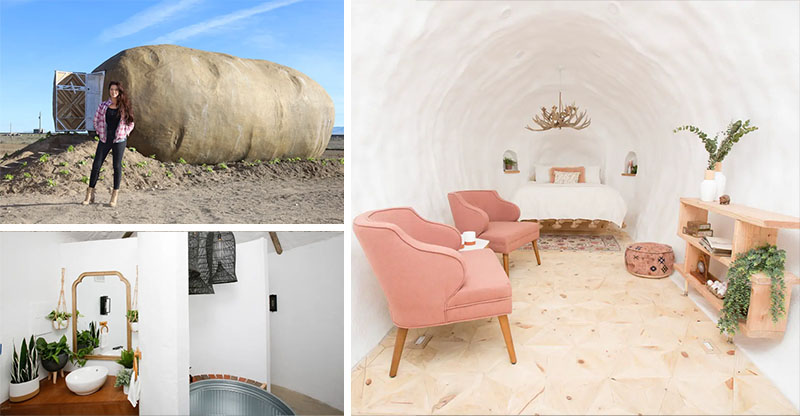Casa de Batata no Airbnb