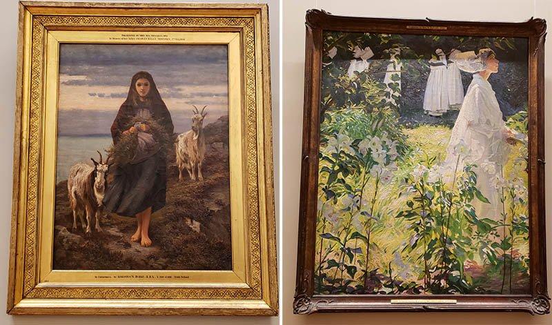 dicas dublin galeria de arte pintores irlandeses