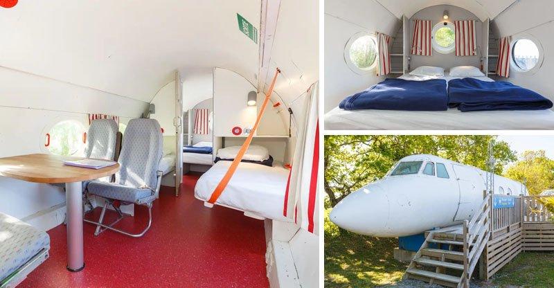 hospedagem em aviao airbnb