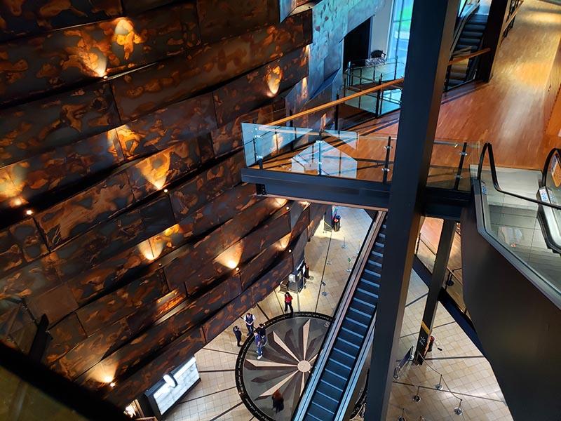 Interior do Museu do Titanic