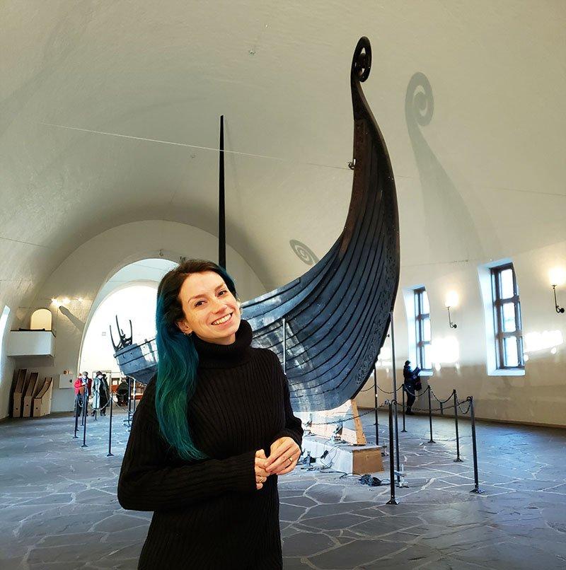 museu navio viking