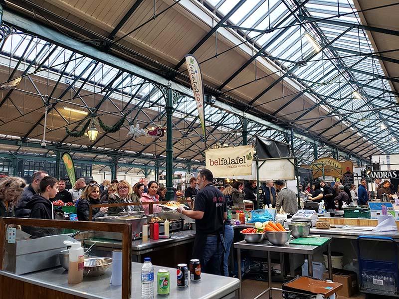st georges market em belfast