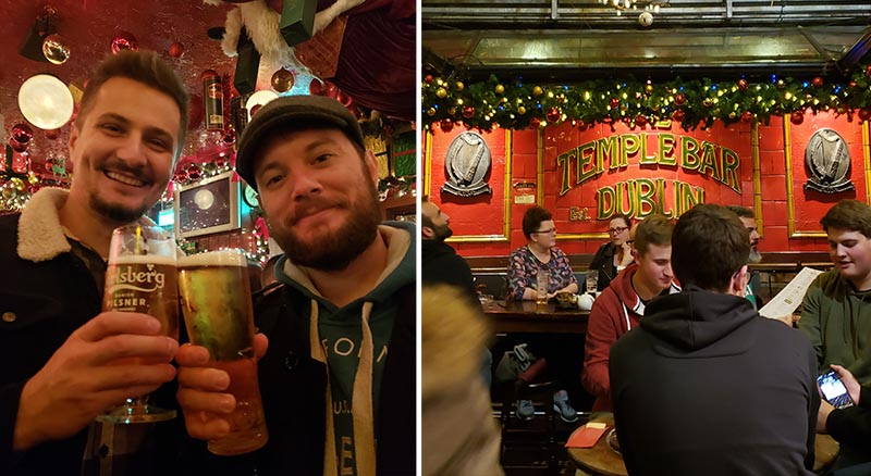 temple bar pub em dublin interior
