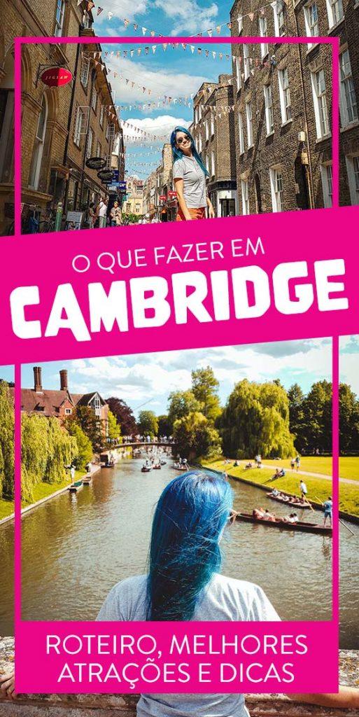 Viagem a Cambridge Inglaterra pontos turisticos