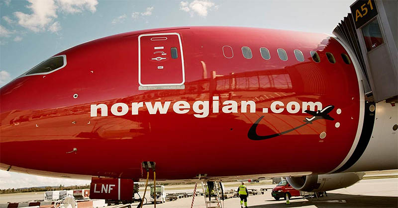 aviao voo noruega irlanda