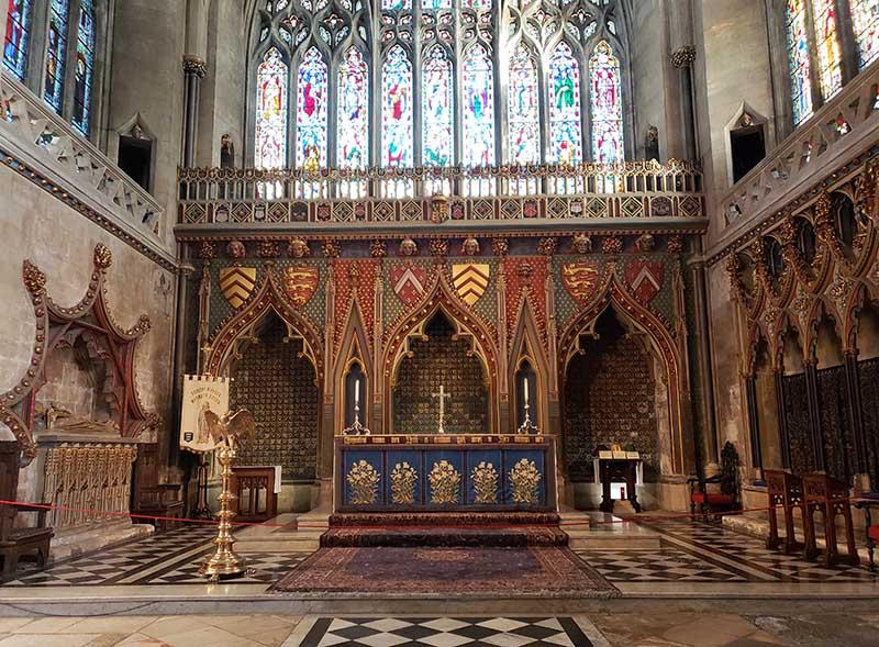 Interior da Catedral de Bristol