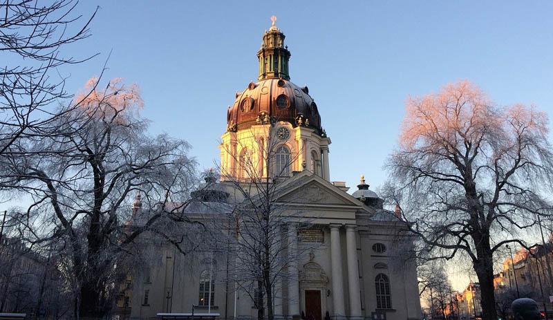 igreja gustav vasa inverno