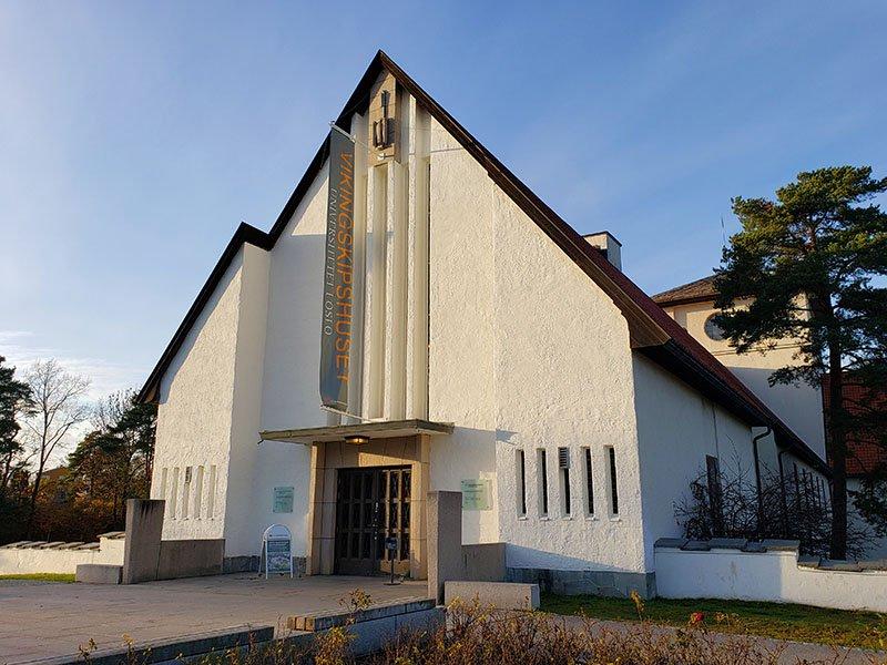 fachada Museu dos Navios Vikings