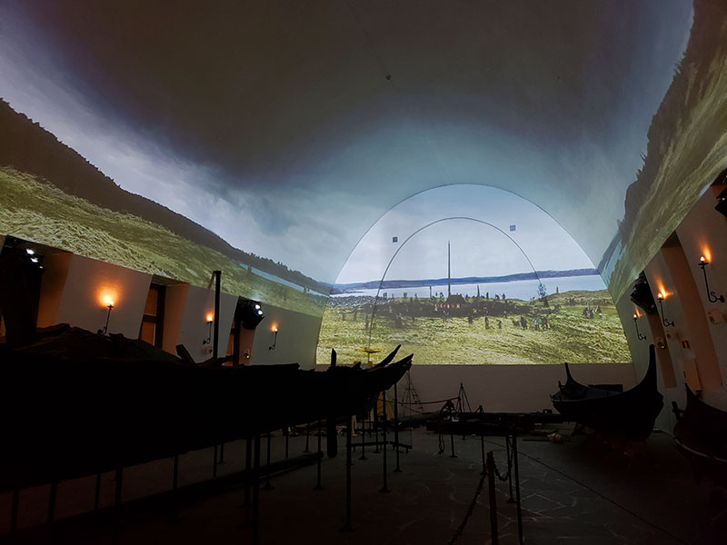 filme Museu dos Navios Vikings sobre a vida viking