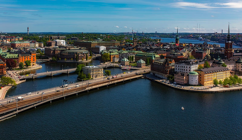 ilha capital da suecia arquitetura
