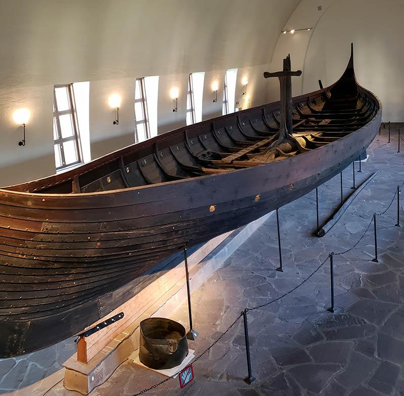 navio gokstad Museu dos Navios Vikings