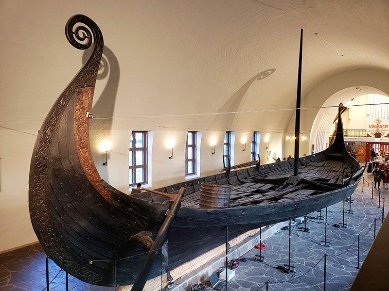 navio oseberg Museu dos Navios Vikings oslo
