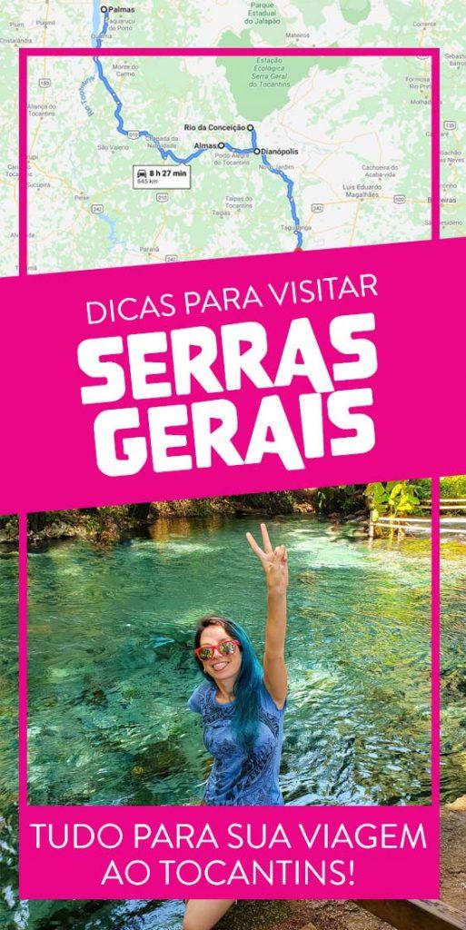 Dicas para viagem as Serras Gerais no Tocantins
