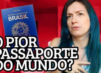 o pior passaporte do mundo brasileiro