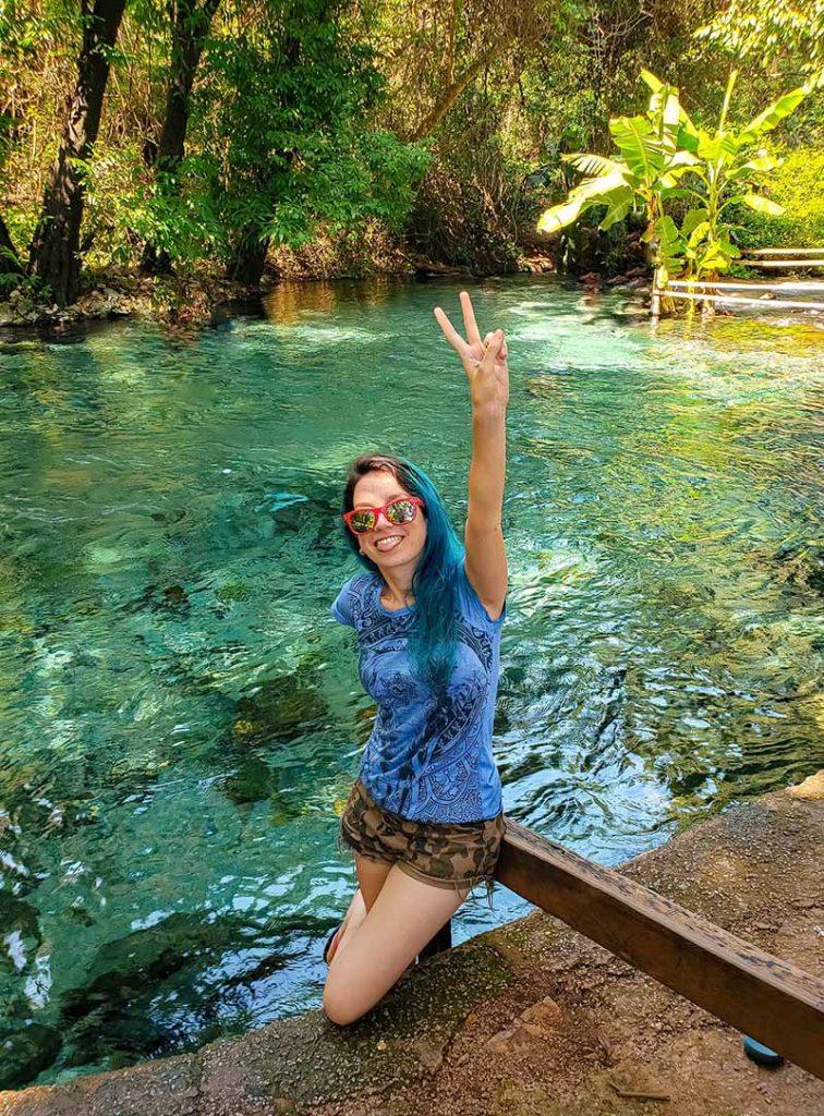 rio azuis serras gerais no tocantins