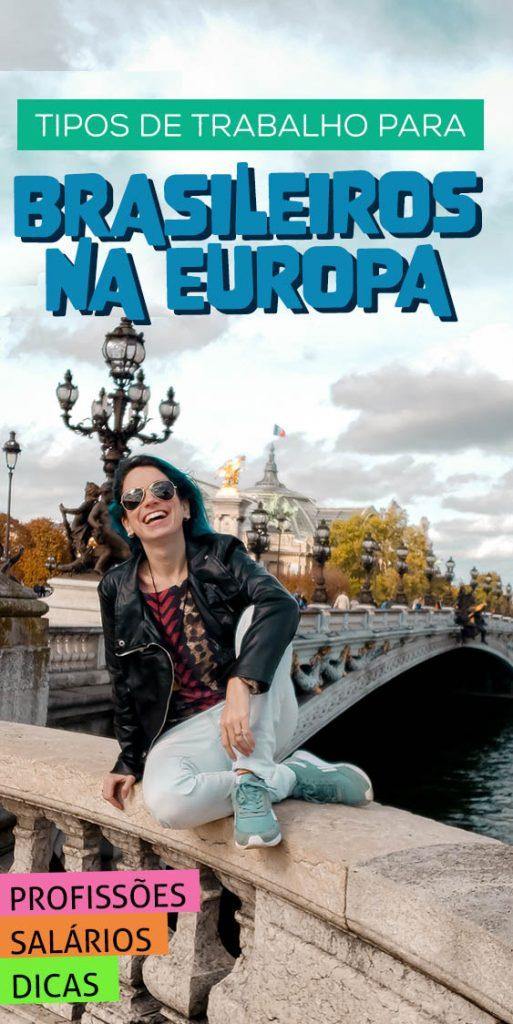 trabalhos para brasileiros na europa areas e dicas
