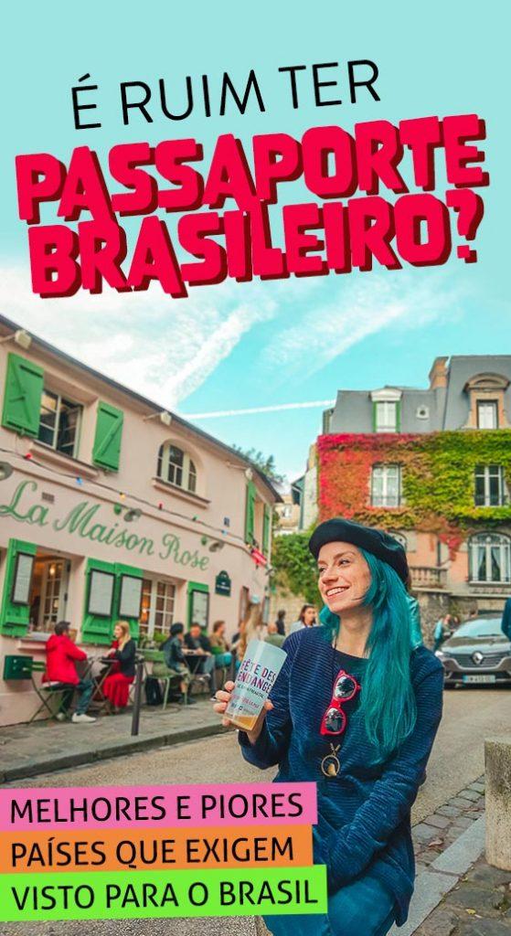vantagens do passaporte brasilieiro entre melhores do mundo