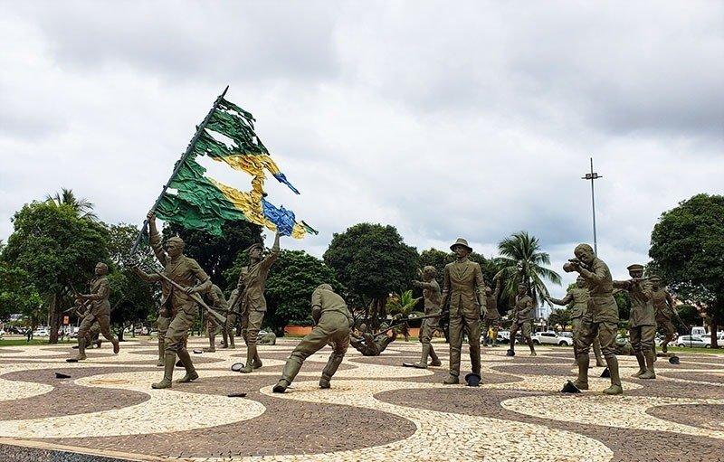 Monumento aos Dezoito do Forte de Copacabana