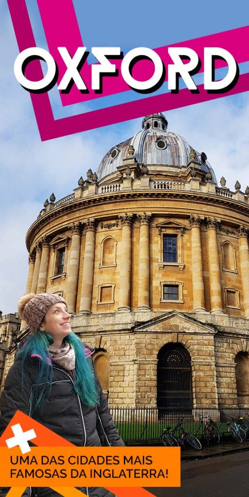 Pontos turisticos em Oxford Inglaterra