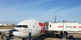 aeronave boing 777 latam