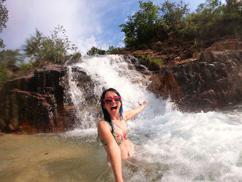 Cachoeira do Sombra aurora do tocantins